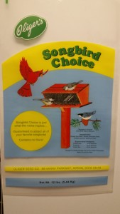 Songbird Choice Bag